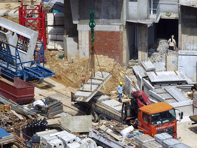 materiały budowlane beton