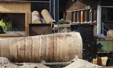 obróbka drewna w tartaku