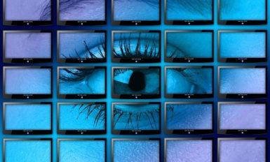 video wall w galerii handlowej