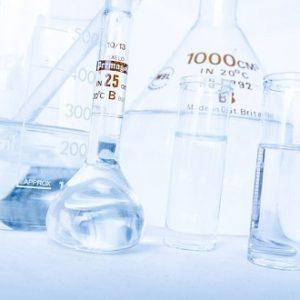 zlewki kolby szkło laboratoryjne