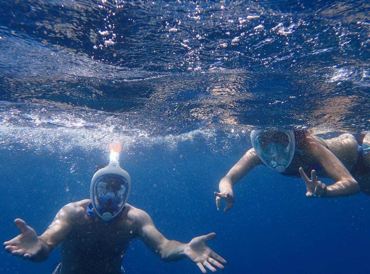 nurkowanie w parze