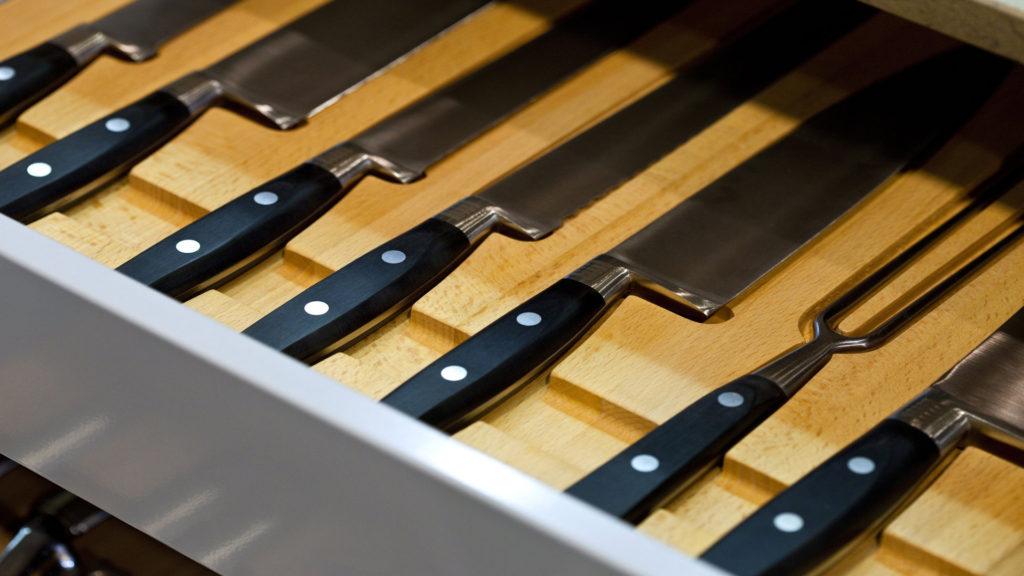 Wkład na noże do szuflady