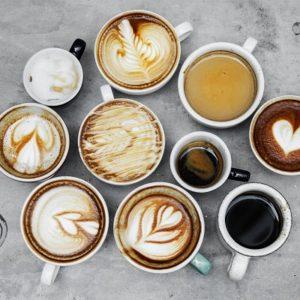 różne rodzaje kawy