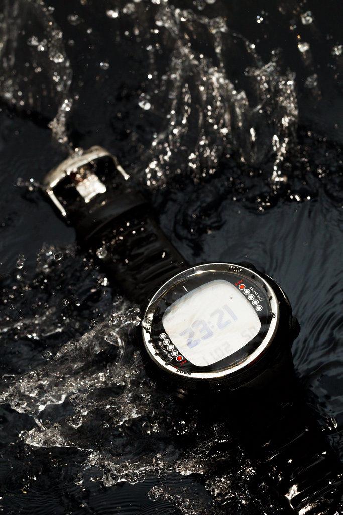 Zegarek w którym można nurkować
